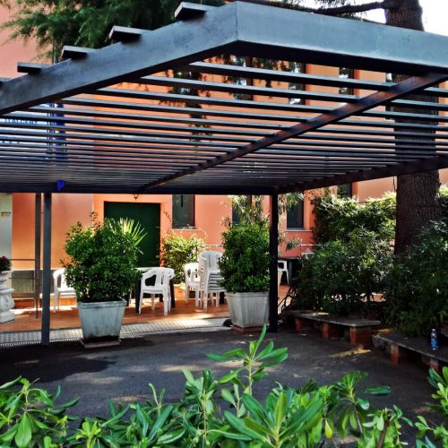 carpenteria leggera: gazebo in ferro